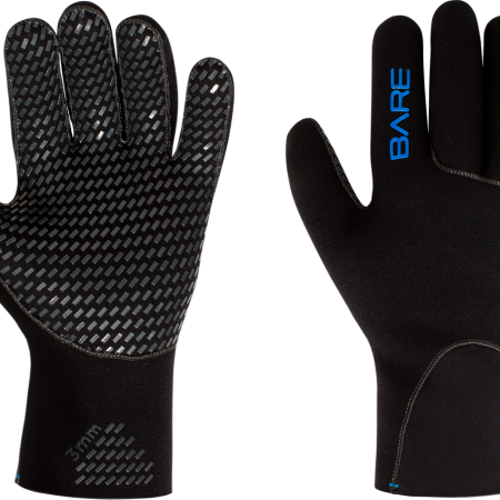 BARE Neoprenske rukavice 3mm