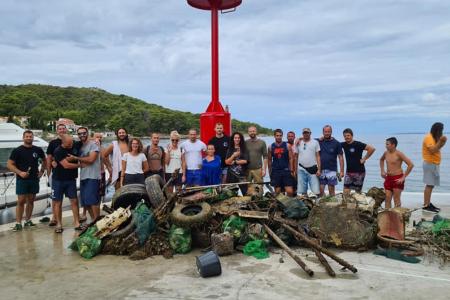 Akcija čišćenja podmorja u Lukoranu